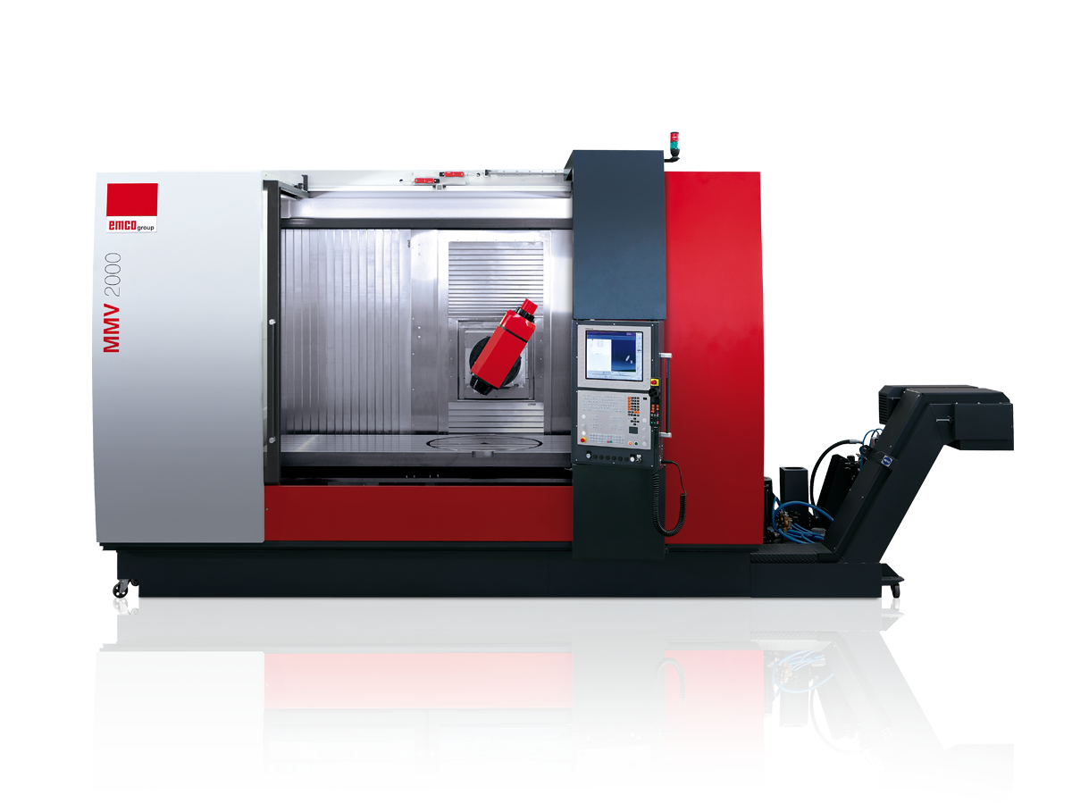 Small Cnc Mill >> MMV: EMCO lathes and milling machines for CNC turning and milling